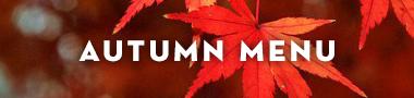 autumn menu shiki